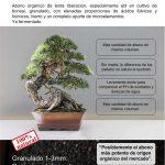 Abono orgánico de lenta liberación de bonsai 6-7-7