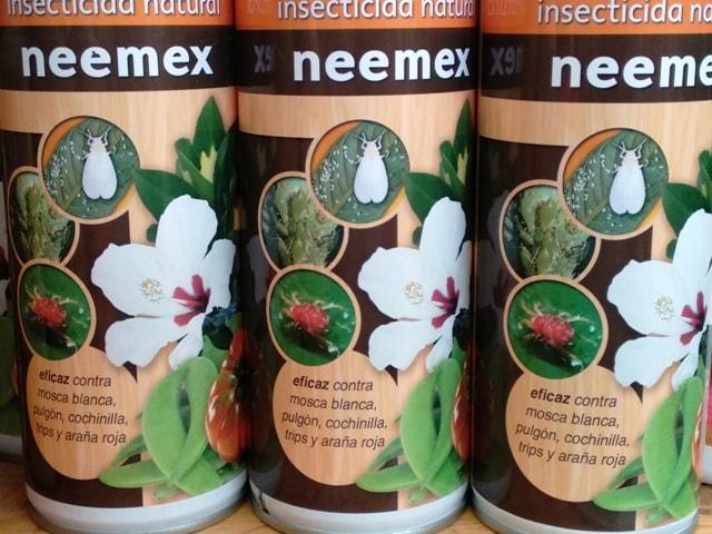 insecticida aceite de neem