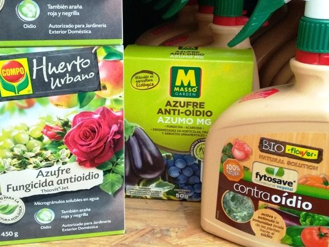 productos contra oidio bonsai