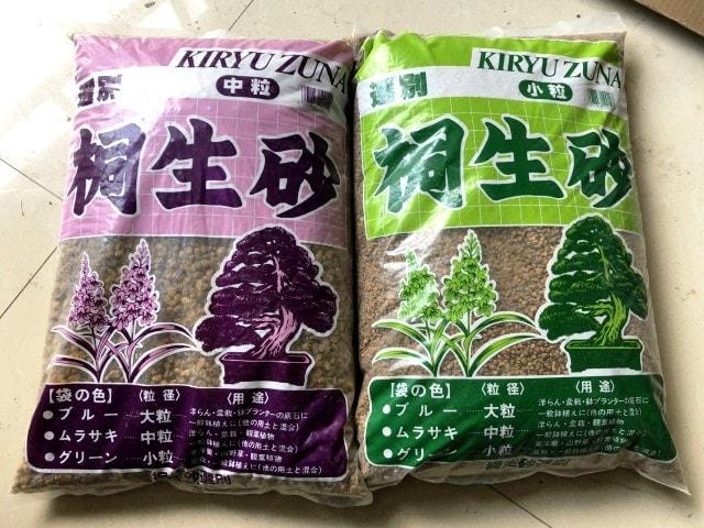 kiryuzuna sustrato bonsai japón