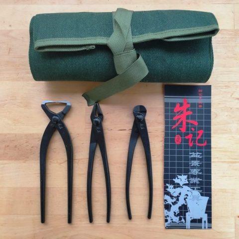 kit de astilladora y alicates para bonsai de la marcha zhuji