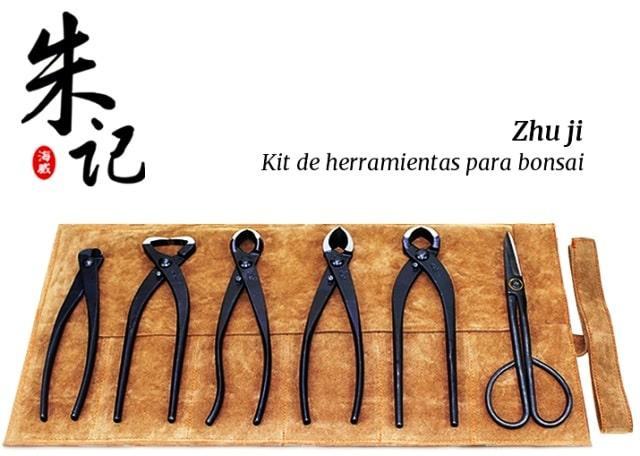 kit de herramientas para bonsai